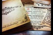 Invitation Photo Gallery / Photos and designs from past couple Wedding Inviations