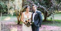 wedding: christi + sean / Legare Waring House, Charleston, SC Flowers: Tiger Lily Weddings, Charleston SC