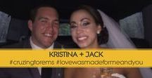 """Love Was Made For Me And You / KRISTINA + JACK """"Love Was Made For Me and You"""" Charcoal Gray and Gold Wedding Pocket Invitation"""