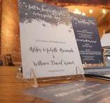 Winter Wonderland in New Jersey Wedding Invitations / Winter Wonderland in New Jersey Wedding Pocket Invitation