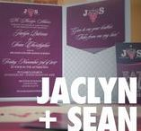 Wine and Grapes Pink and Purple Pocket Wedding Invitations / Wine and Grapes Pink and Purple Pocket Wedding Invitations