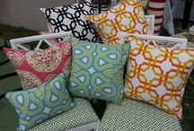 Pillows / We have a diverse selection of fabulous pillows in our La Jolla, CA shop