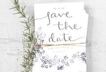Faire-parts mariage • Save-The-Date