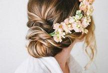 Tendances beauté • Beauty trends / Le choix de la coiffure le jour J n'est pas evident. Il faut trouver celle qui vous sublimera en fonction de la forme de votre visage, du type de vos cheveux et du choix de votre robe. Voici une selction de coiffures afin de vous aidez à afiner votre choix.
