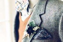 Costumes de mariés • Grooms / Certes moins attendu que la robe de la mariée, la tenue du marié ne doit pas être négligée pour autant. Découvrez ici notre sélection !