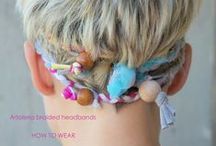 Hair Accessories / I love to wear different hair accessories.  Here are a few of my favorites.  Enjoy!