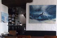 """Le Café Noir"", 2012 / Solo exhibition in CNN Noirmoutier Sept. 2012"