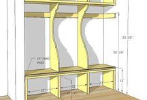 Home Design-Mudroom/drop zones/command centers / by Elisabeth .