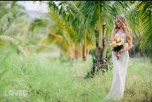 Tropical Weddings / A Tropical wedding couldn't be more beautifully romantic. Ocean breezes, lush vegetation, and the unique, hypnotic scent of plumeria create a magical wedding day experience. Here are some of our eco conscious gowns perfectly suited for a tropical wedding. Plus ideas we love. / by Deborah Lindquist