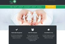 Web Design / This is some of the website design work we've done recently.