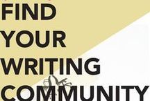 Writing Community, Courses, and Workshops / There are many places online to meet up with and learn from other writers and those in the literary field. Come explore some of the communities and course we love!