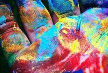 Colors--MULTICOLORED / by Faith Tatum