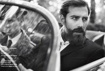 Beard & hairy / FAÇA AMOR, NÃO FAÇA A BARBA!  Make love, not beard! / by Léo Begin