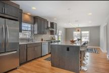 Thompson Kitchens / Thompson Remodeling knows that a kitchen should serve your families needs. Weather you are an aspiring chef or just need a functional space to prepare family meals.