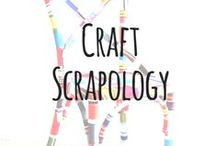 craft scrapology / CRAFT SCRAPOLOGY is the study of how to sort + organize + store + recycle + upcycle all of your craft supplies & scraps. / by Lindsey Rose of Lindseymade Originals
