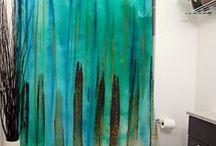 Shower Curtain Designs / Shower Curtain Designs by Janet Antepara Designs