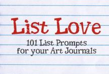 Creativity & Creative Prompts / Creative prompts for art journaling and other projects / by Marjie Kemper Designs