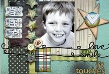 """Scrapbooking / Scrapbooks and scrapbook layouts, especially my favorite types of layouts -- single photo scrapbook layouts that include mixed media.  Also check out """"Mixed Media, Canvas and Collage"""" board for dimensional scrapbook pages and my """"Online Scrapbooking, Stamping & Card Making Classes"""" board for lots more ideas. Sign up for my newsletter/receive a discount on my online class: http://bit.ly/1GHw8Qx"""