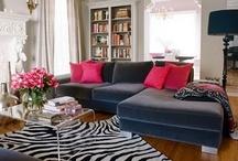 DESIGN - LIVING ROOM / by Samantha Wester