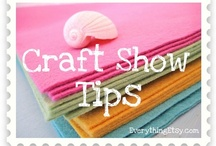 Craft Shows Tips and Art Fair Display Ideas / Craft Show tips and tricks, display ideas, booth organization for art fairs and festivals / by Marjie Kemper Designs