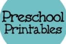 Preschool/Toddler Printables / by Linda Miller