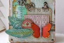 Altered Clipboards / Altered clipboard and mixed media clipboards / by Marjie Kemper Designs