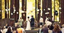 Outdoor & Garden Wedding Ideas / Inspiring ideas for the outdoor & garden wedding of your dreams.