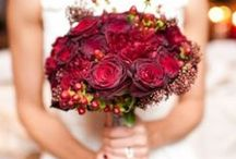 Red Wedding Ideas / Creative and beautiful ways to incorporate red into your wedding decor.
