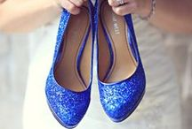 Blue Wedding Ideas / Creative and beautiful ways to incorporate blue into your wedding decor.