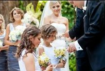 Kids & Pets at Weddings / Take a look at some of the creative ways couples have included their kids and pets on their big day!