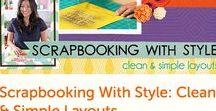 Online Scrapbooking & Stamping Classes / This Board includes online Scrapbooking & Stamping classes. One of the perks of being a Craftsy instructor is access to their entire catalog of over 1,000 classes. ALL Craftsy classes come with lifetime access + a money-back guarantee! Download and watch as many times as you like, whenever and wherever you like. These are affiliate links. Check out my other Boards to see more including Card Making (handmade greeting cards) classes, Mixed Media, and Art Journal classes.