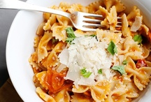 Pasta & Rice / Pasta makes a great side dish as well as a perfect main course. Tune into your Italian side with these pasta recipes sure to make dinner a crowd pleaser / by Bree Hester of Baked Bree