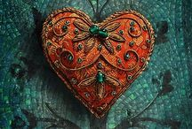 J'aime / Things I LOVE! #hearts #jewelry #unique #quotes / by MJB Hewitt