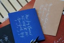 Pens Paper Palette & Penmanship✒️✏️ / fine pens, paper, calligraphy, lettering, colors, etc / by MJB Hewitt