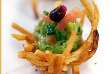 Assortment of hors d'oeuvres: canapes, caviar... / by MJB Hewitt