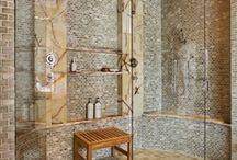 Boundless Bathrooms / #bathrooms #remodel #design / by MJB Hewitt