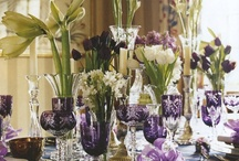 Table toppings / #Table decoration  #centerpieces  #entertaining #floral design / by MJB Hewitt