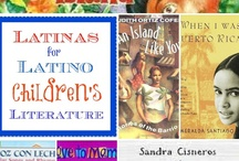 Latinas For Latino Children's Literature / In response to the New York Times article about the lack of Latino authors and books for children, Latina bloggers are launching a coordinated response that correctly identifies the problem and gives solutions.  / by Lisa Quinones-Fontanez