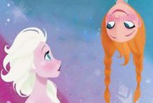  Art of Frozen / Concept and some fan art for Disney's Frozen.