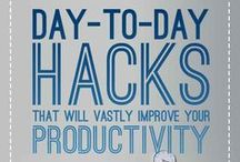 Productivity Hacks / The best productivity tips. time management advice and lifehacks to get things done better.   If you want to join any of my boards, find a pin by me on that board and send me a message asking to join by commenting on it. If you're a good fit for the board you'll get an invite soon after. Thanks!