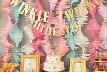 Baby's First Birthday Party! / Only one candle to extinguish, but many other details to plans!
