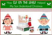 Elf on the Shelf Ideas / Elf on the Shelf has helped my son understand Christmas. Fun and EASY Elf on the Shelf Ideas for parents who struggle like I do :)