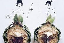 FOOD AND FASHION / La food est définitivement partout ! Voici comment certains stylistes s'inspirent des tendances food pour les transformer en tendances fashion... Le tout validé par Food and You ;)