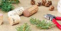 Décoration - Vin / Notre équipe vous a sélectionné les meilleures idées de décoration réalisées avec des objets liés au vin (bouchons, bouteilles, barriques, capsules etc.). Une sélection www.monvinpersonnalise.fr
