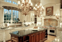 ~ Lovely Kitchens ~ / Designs & Ideas / by Deby Matta DeBruycker
