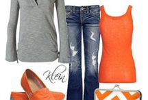 Everyday SPORTSwear / Looking in my closet, I realized half my tops are in my favorite team's colors. Here are some Super Chic styles in team colors so you can Support Your Team in Style, everyday!