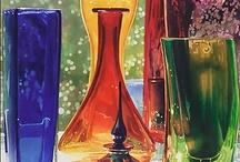 ~ Decorative Art Glass ~ / Beautiful Glasswork / by Deby Matta DeBruycker