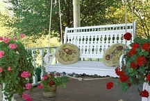 ~ My Front Porch ~ / Designs & Ideas / by Deby Matta DeBruycker