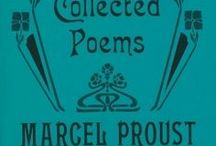 Proust's Writings...Letters...Poems...Drawings / Marcel Proust's thoughts...in notebooks, letters, poems, essays, short stories, novels.  Bad link? Maybe it was saved earlier. Try entering in http://archive.org/web/