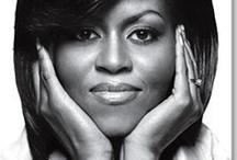 First Lady / Ik heb veel bewondering voor de First Lady. Haar stijl en uitstraling inspireert veel donkere en blanke vrouwen.
